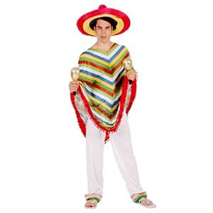 Fato Mexicano Colorido