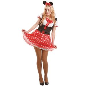 Fato Minnie Vermelha