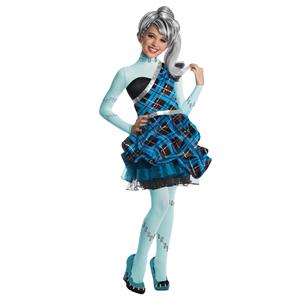Fato Monster High Frankie Stein Sweet, criança