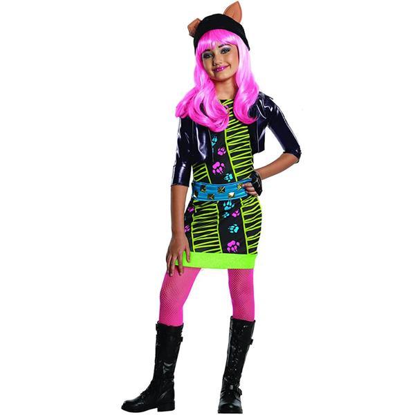 Fato Monster High Howleen Wolf, criança