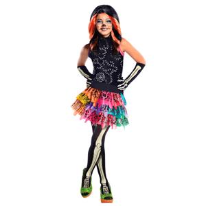 Fato Monster High Skelita Calaveras, criança