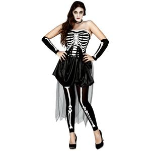 Fato Mulher Esqueleto