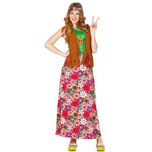 Fato Mulher Hippie Feliz