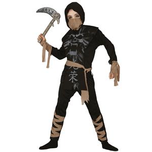 Fato Ninja Esqueleto