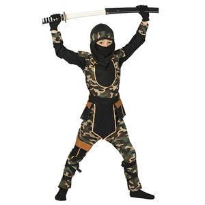 Fato Ninja Força Especial, Criança