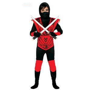 Fato Ninja Vermelho