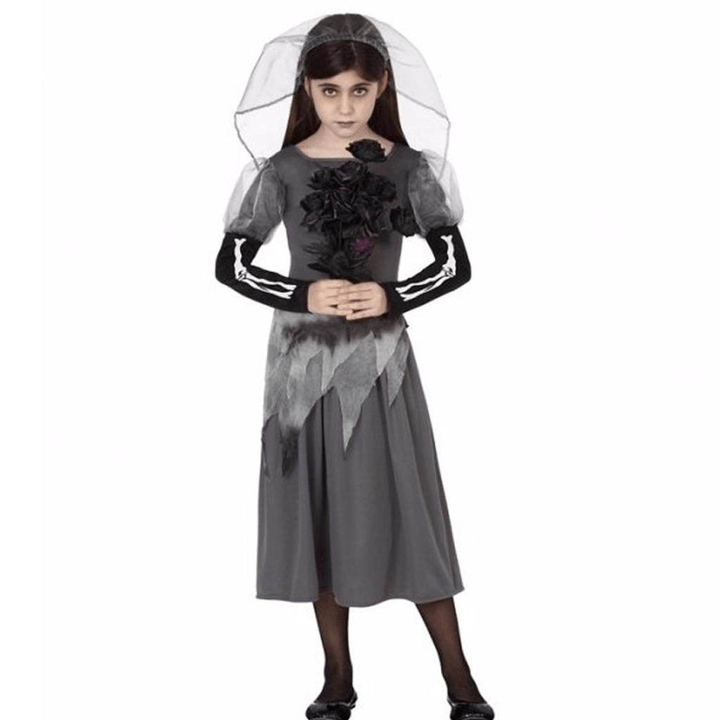 Fato Noiva Cadáver Menina