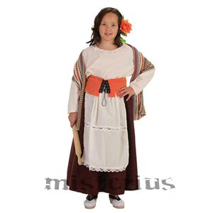 Fato Padeira Medieval, Criança