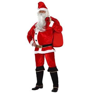 Fato Pai Natal Aveludado