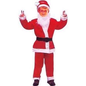 Fato Pai Natal Barba, criança