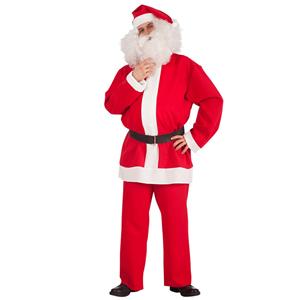 Fato Pai Natal com Chapéu, Adulto
