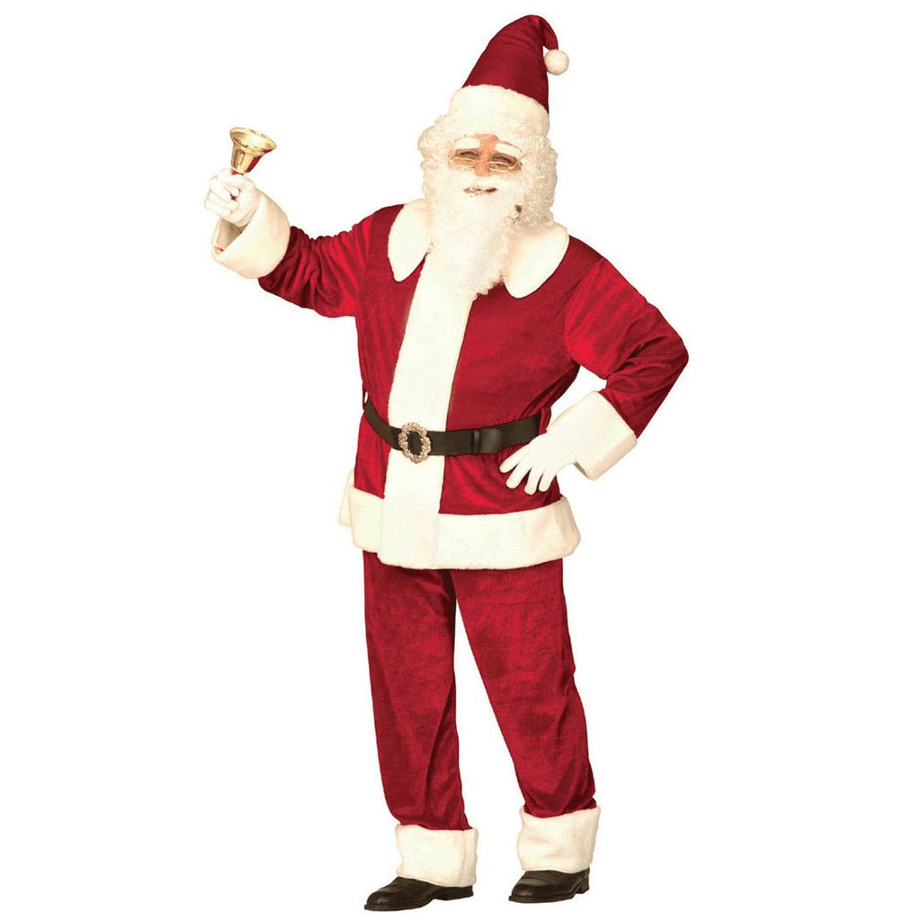 Fato Pai Natal Deluxe, Adulto
