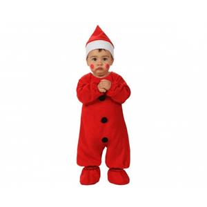 Fato Pai Natal Vermelho, bebé
