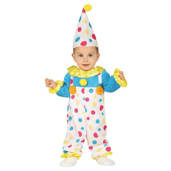 Fato Palhacinho Bolinhas, Bebé