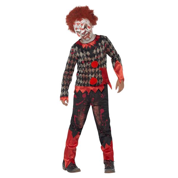 Fato Palhaço Zombie, Criança