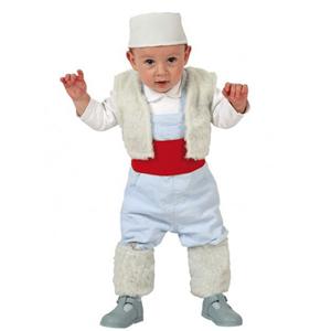Fato Pastor Branco, Bebé