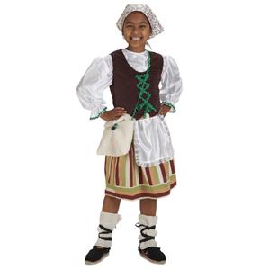 Fato Pastorinha Madeirense, Criança