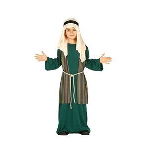 Fato Pastorinho Verde, criança