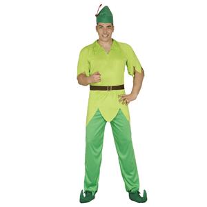 Fato Peter Pan dos Bosques, Adulto