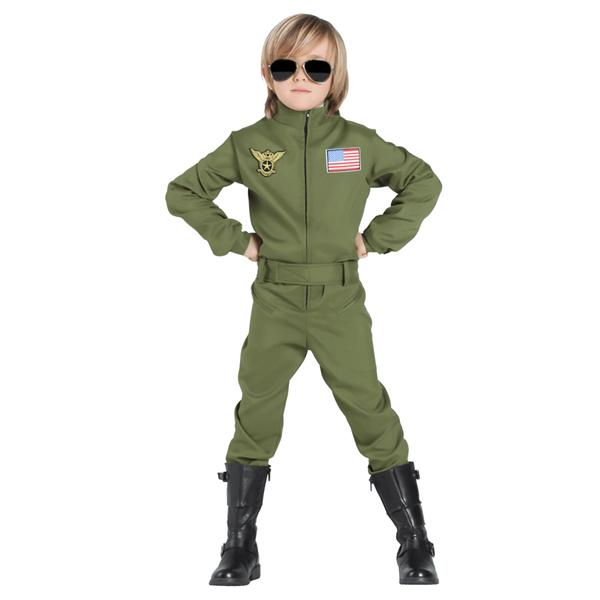 Fato Piloto Avião de Combate, Criança
