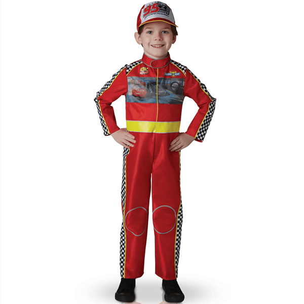 Fato Piloto Faísca McQueen Deluxe, Criança