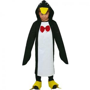 Fato Pinguim Laço, criança