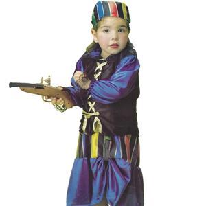 Fato Pirata Azul, criança