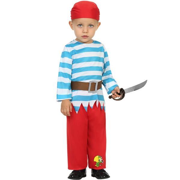 Fato Pirata dos 7 Mares Menino, Bebé