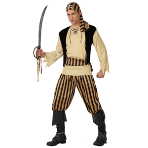 Fato Pirata Lutador, Adulto