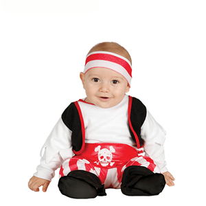 Fato Pirata Riscas, Bebé