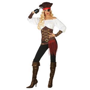 Fato Pirata Sensual, Adulto