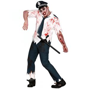 Fato Policia Zombie
