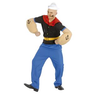 Fato Popeye Marinheiro