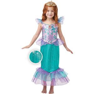 Fato Princesa Ariel Glitter, Criança