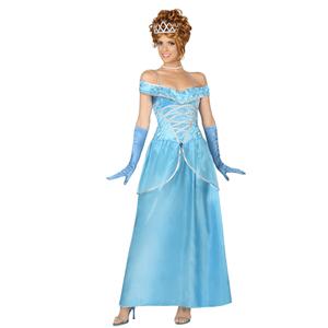 Fato Princesa Azul, Adulto