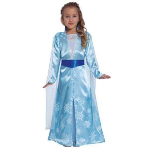 Fato Princesa Azul Cristal, Criança