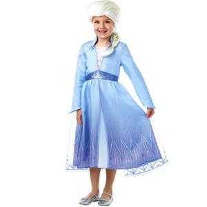 Fato Princesa Elsa com Peruca Frozen 2, Criança