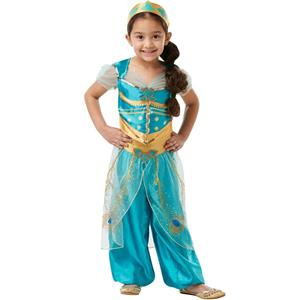 Fato Princesa Jasmine Classic Deluxe, Criança