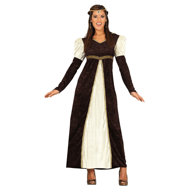 Fato Princesa Medieval, Adulto