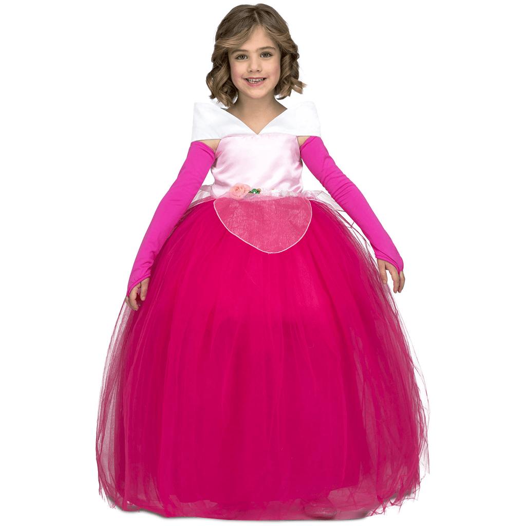 Fato Princesa Rosa Tule, Criança