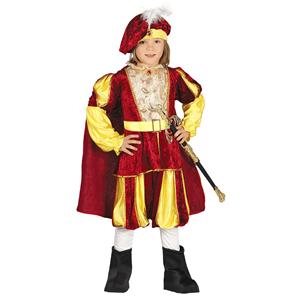 Fato Príncipe Renascentista, Criança