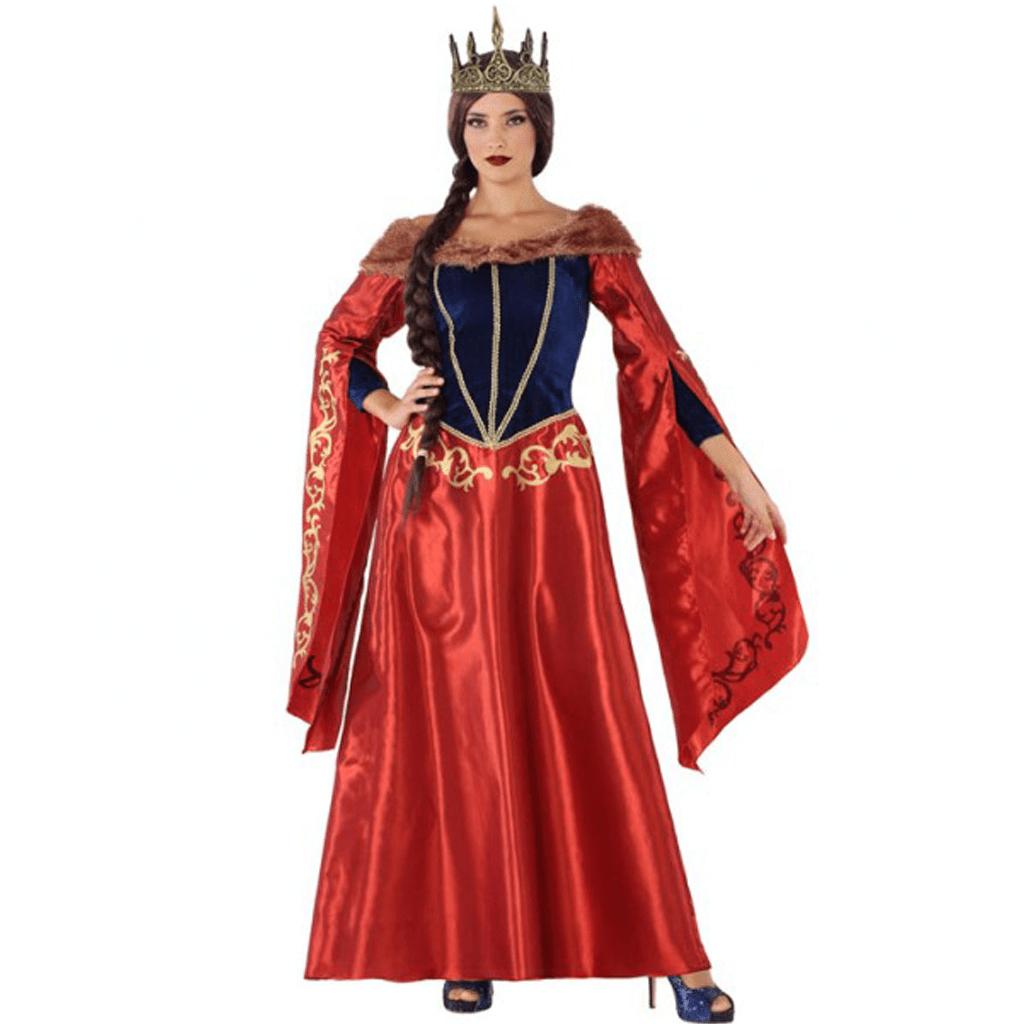 Fato Rainha da Idade Média, Adulto