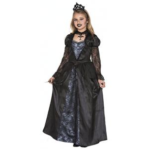 Fato Rainha Malvada Preto, Criança