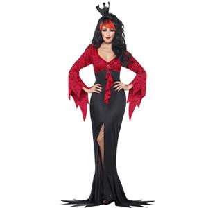 Fato Rainha Vampira, Adulto