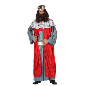 Fato Rei Mago Belchior Vermelho, Adulto