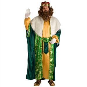 Fato Rei Mago Verde, Adulto