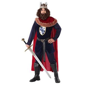 Fato Rei Medieval Azul