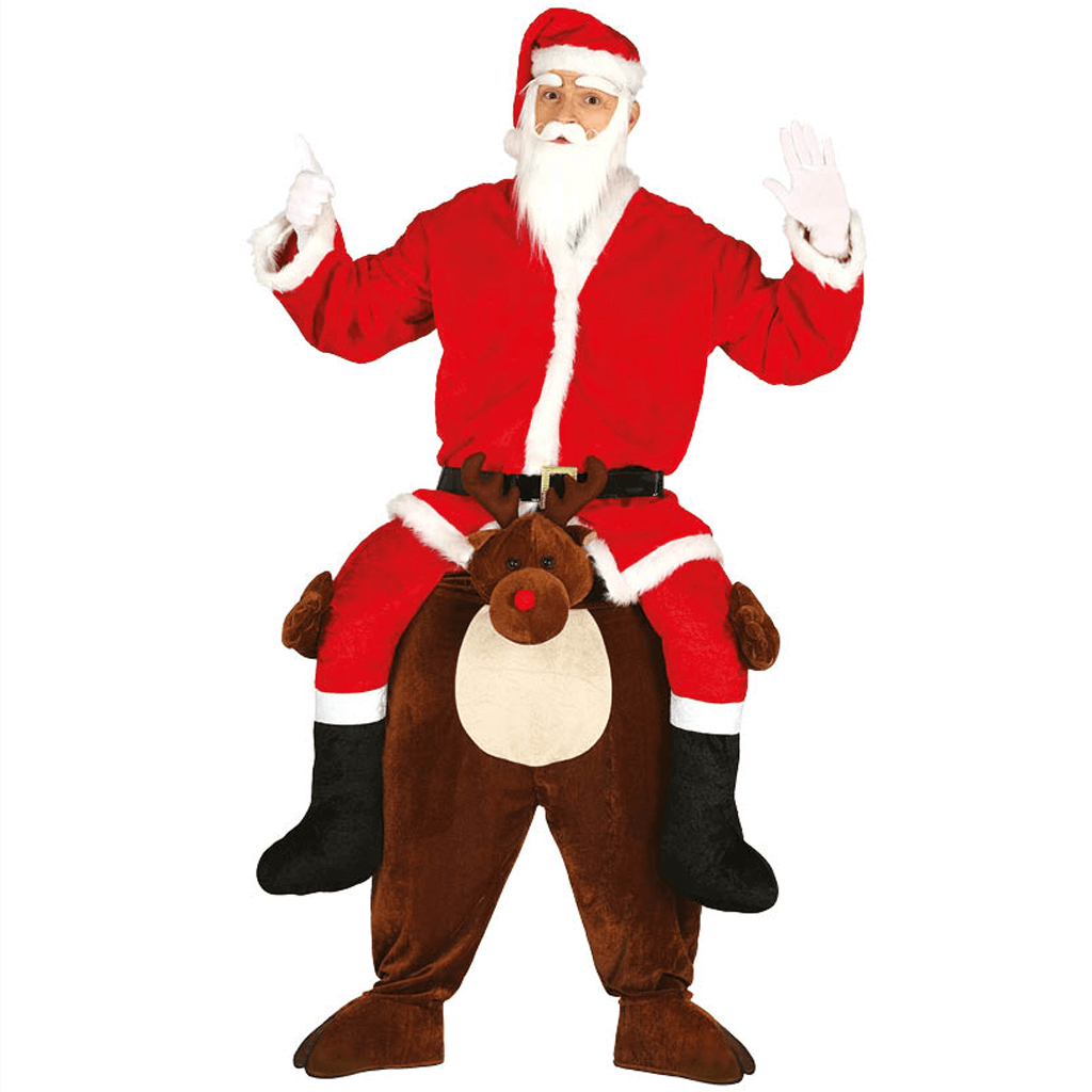 Fato Rena e Pai Natal Carry Me, Adulto