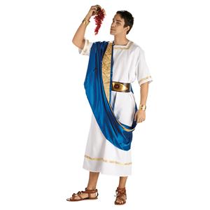 Fato Romano César Azul