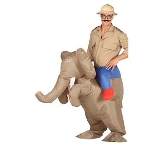 Fato Safari Elefante, Adulto